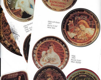Coca Cola Collage Paper Pack, Coke Clip Art, Tray Clipart, Paper Ephemera Scrap Pack for Paper Arts, Scrapbooking or Decoupage PSS 3129