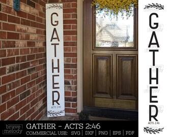 Porch Sign Svg Etsy