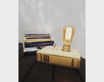Books lamp handmade design