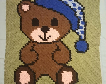 Bear with nightcap