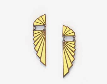 AILES LEMON, Art Deco Collection by Materia Rica