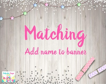 Add NAME to party banner
