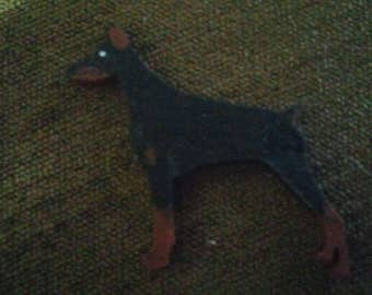 Border Collie dog pin custom