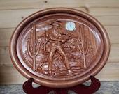 Desert Cactus Clock Wood ...