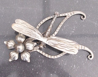 Wrought Iron Dragon Fly Sculpture