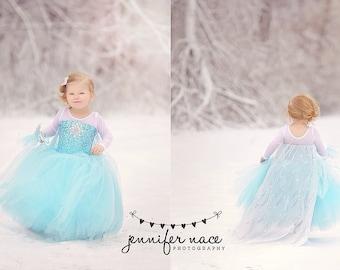 Frozen costume Elsa  inspired  tutu costume 8
