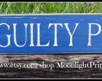 Police, I See Guilty People, Police Officer, Law Enforcement, Police Signs, Police Officer Gift, Wooden Signs, Lawyer Signs