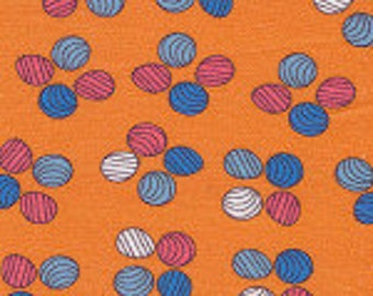 Cotton Print Fabric, SALE FABRIC, Orange Fabric