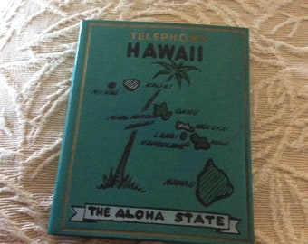 Vintage Hawaiian Islands Address and Phone Leather Book, New Never Used