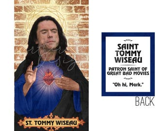 Saint Tommy Wiseau // Prayer Candle // The Room