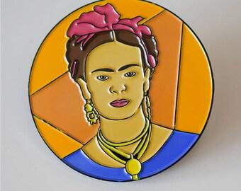 FRIDA, Emanel Pin Badge