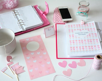 Valentin napi tervező csomag PDF (HUN)