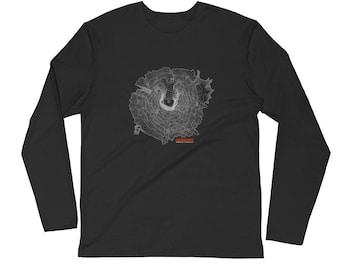 Mount Saint Helens Long Sleeve Shirt | Men's Long Sleeve Shirt | Mountain Shirt | Mountain Apparel | Mt St Helens | Washington Apparel