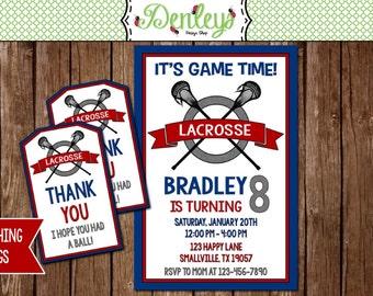 Lacrosse Invitation (LC01)
