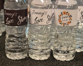 Water Bottle Labels, Printable