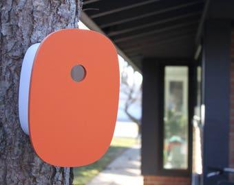 Modern Birdhouse | Orange