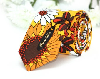 Floral Wedding Tie GroomsMens Gifts Men's Necktie Wedding TC265