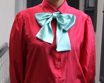 Handmade festival bow tie bandana stylish trendy scarf.