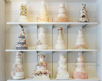 Kitchen Art - Wedding Layer Cake Wall Decor - Fine Art Photography Print