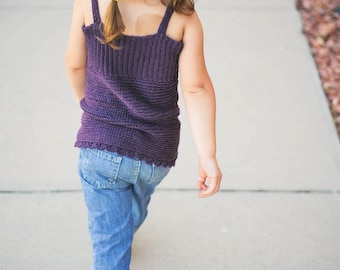 Crochet Pattern Halter Top Sizes Newborn to Adult XL No. 12