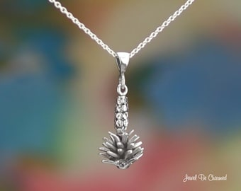 "Sterling Silver Yucca Necklace with 16-24"" Chain or Pendant Only .925"