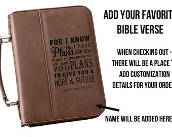 Personalized Bible Cover