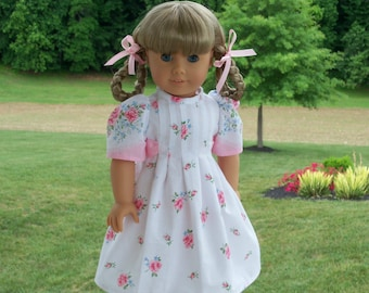 "PDF SEWING PATTERN for 18 Inch Doll Clothes  / Butterfly Kisses / Vintage Style Pattern Fits American Girl®  or Other 18"" Dolls"