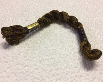 Size 5 829 Brown DMC Pearl cotton