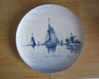 Dutch Blue and White Wall Plate