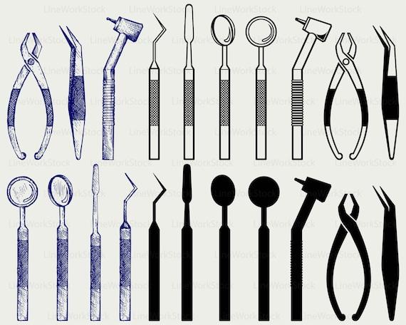 dental equipment svg dental clipart dental svg dental rh etsy com dental clipart images dental clipart borders