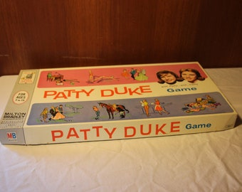 Patty Duke Board Game, 1963, TV-show-inspired, about identical cousins Patty and Cathy