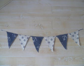 Seaside Collection fabric banner