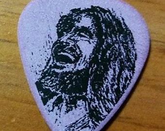 Jesus Guitar Pick, Jesus Laughing, Pick Jesus, 2 Picks