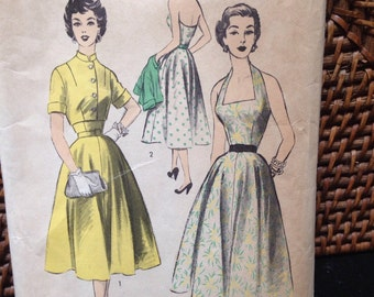 Vintage Advance dress pattern