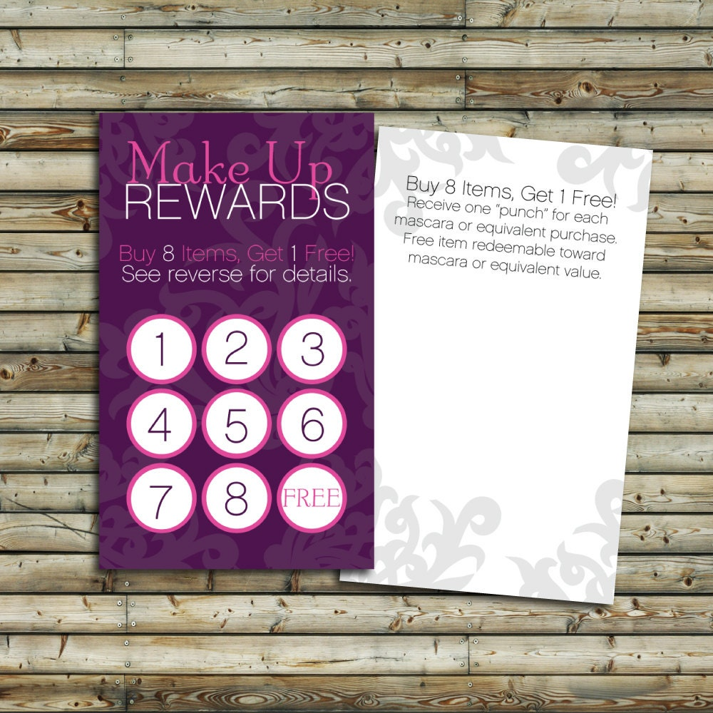 business reward cards image collections business card template word