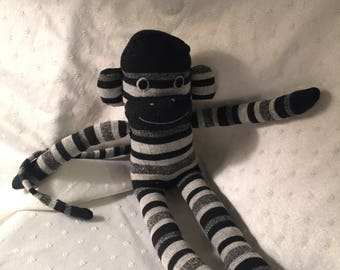 Soft sock monkey