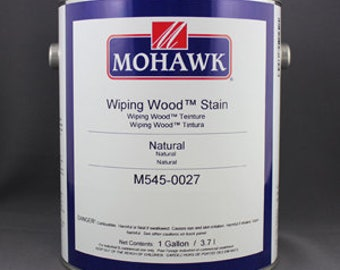 wiping wood and architectural wiping stains 2 Brown Maple Gal