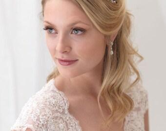 Crystal Bridal Headband, Swarovski Crystal Wedding Headband, Rhinestone Headband, Crystal Headband,Hair Accessory, Bridal Headpiece ~TI-3303