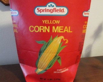 Vintage Springfield Corn Meal 5lb. Bags (2)