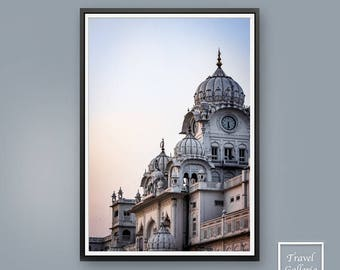 Golden Temple Quote Printable Art - India / Spiritual / Modern / Indian / Instant Download / Inspirational Print / Amritsar / Sikh
