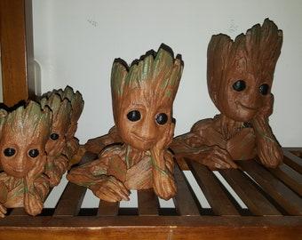 Cute Groot Planters