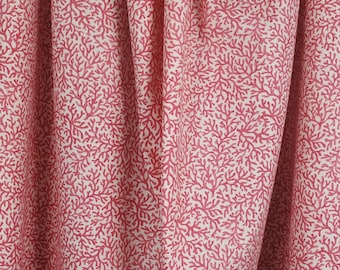 Key Largo Shrimp Pink Coral Fabric