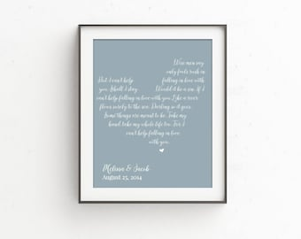 unique wedding gift for couple Gift for Her  1st anniversary gift  Wedding Vow Art   Wedding Vows  Wedding Vow Keepsake  Anniversary Gift |