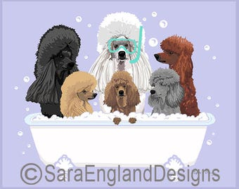 Spa Day - Poodle-Crowded