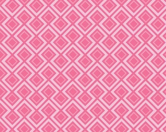 Fantine by Riley Blake - Geometric Pink - Cotton Woven Fabric