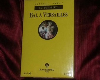 Vintage Bal A Versailles Jean Desprez Perfume Spray 50ml new sealed in the box
