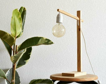 The Ti lamp ' Josy / table lamp / wooden / free shipping