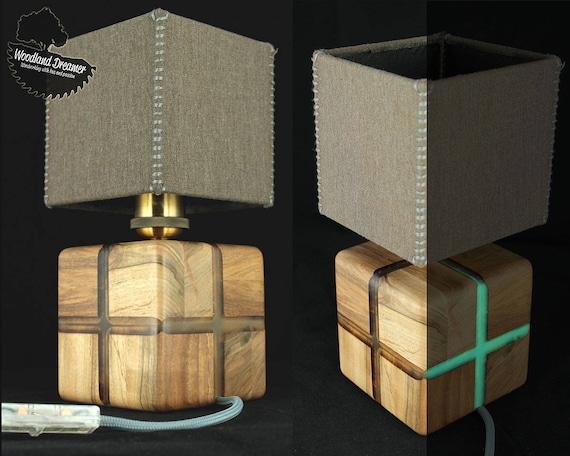 Modern Table Lamps Wood Lamp Resin Lamps Industrial Lamps