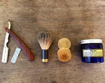 Handmade Gentlemen's Shave Set Authentic Shotgun Shell Shaving Set, The First Ever
