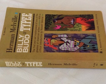 Vintage paperback, Billy Budd and Typee by Herman Melville